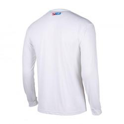 Camiseta Técnica Manga Larga Aquatek color blanco