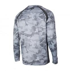 Camiseta Vaportek Grey Fish Camo Pelagic