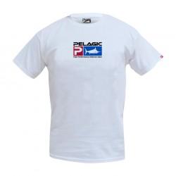 Camiseta Blanca Deluxe Logo Pelagic