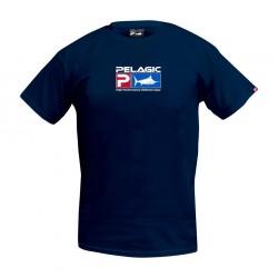 Camiseta Deluxe Logo Pelagic Azul