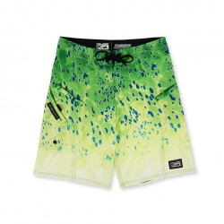 Pantalón corto Sharkskin Dorado Green Pelagic