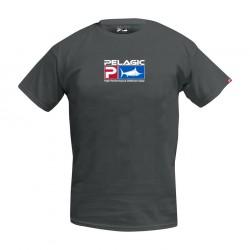 Camiseta Deluxe Logo Gris Pelagic