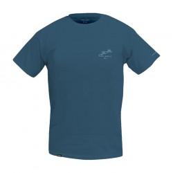 Camiseta UV Premium Gyotaku azul Pelagic