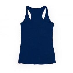 Camiseta azul Racerback Americamo Pelagic