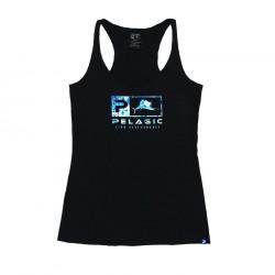 Camiseta Dorado Icon Blue Racerback
