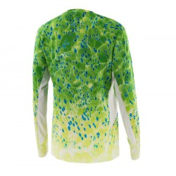 Camiseta Solar Pro Green Dorado Pelagic