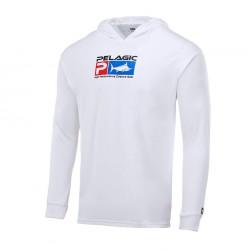 Camiseta Aquatek Deluxe Hoodie Blanco