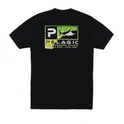 Camiseta Torn Icon Dorado Green Premium Pelagic
