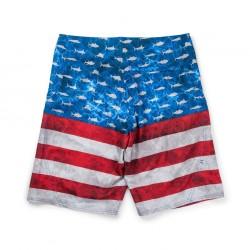 Pantalón Corto Sharkskin Americamo Pelagic